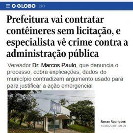 O Globo 16/05 –
