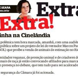 Jornal Extra 15/09 – Coluna Berenice Seara